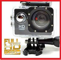 Екшн камера A7 Sport Аквабокс,Кріплення на кермо,шолом,захист gopro