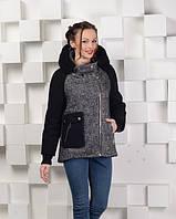 Женская  куртка твидовая М-1235, 48,52р