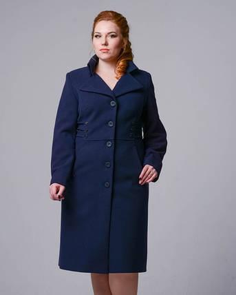 Женское демисезонное пальто 2118_16 р-ры 48,50, фото 2