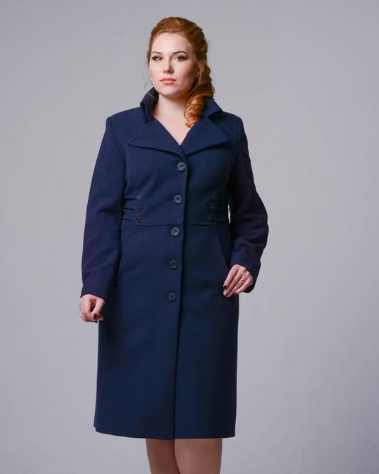 Женское демисезонное пальто 2118_16 р-ры 48,50