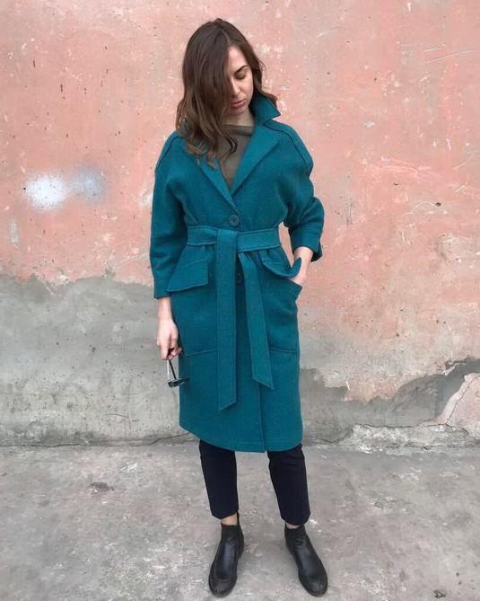 Женское пальто Пыльник -1283