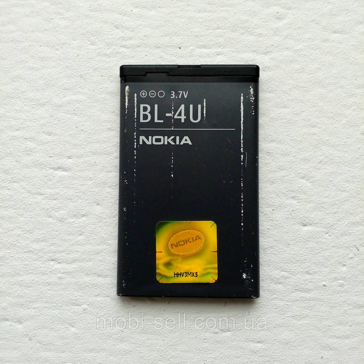 Аккумулятор Nokia BL-4U 1011 мА, 100% оригинал, протестированный (Б/У)