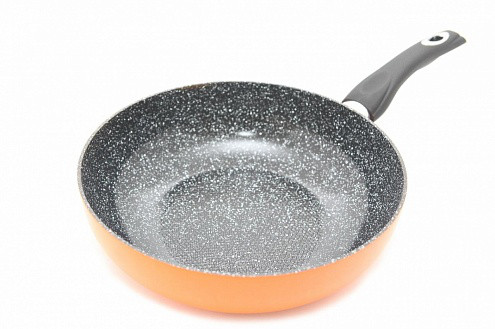 Сковорода глубокоя Fissman PENETTA 20 см (Керамическое антипригарное покрытие с индукционным дном)