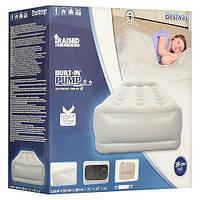 67455 BW Надувная кровать Restaira Premium Airbed(single) 191х97х38 см со встроенным насосом