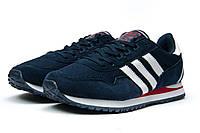 Кроссовки мужские Adidas, синие (7711481), р.41 ,42 ,43, 44, 45, 46* (реплика)