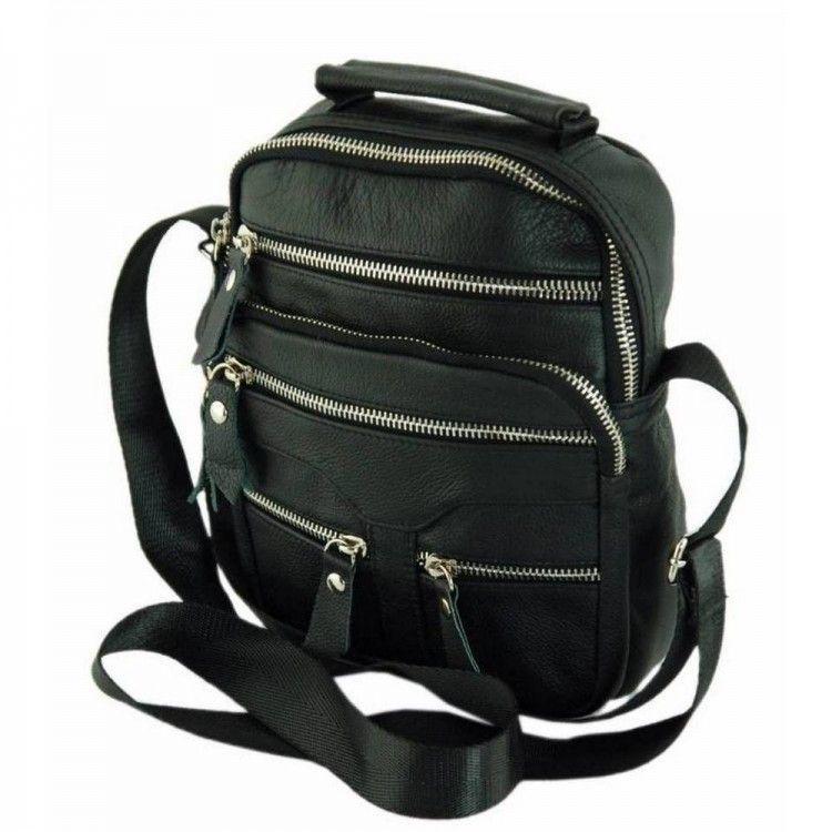 83688ec5b704 Вертикальная сумка через плечо из кожи Traum арт. 7172-30 - Интернет-магазин