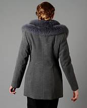 Женское зимнее молодежное полупальто М 5050, фото 3