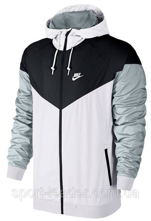 9635b8cf Куртка мужская Nike Sportswear Men's Windrunner Jacket Hoodie 727324 101 -  Sport-Leader в Киеве