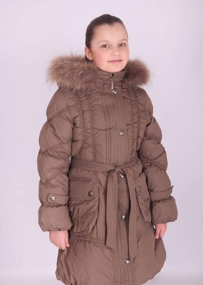 Пальто зимнее для девочки (KIKO), наполнитель-пух