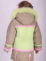 Пальто зимнее для девочки Diwa Club, фото 2