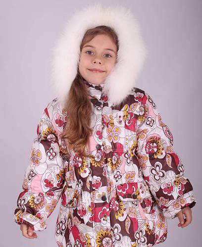 Куртка зимняя для девочки (Donilo), наполнитель-холлофайбер 2569A.