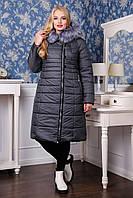Женское зимнее пальто  ПВ - 915 (И/М) ЛАКЕ ,48-62р