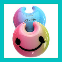 MP3 плеер цветной в виде смайлика AT-P34!Опт