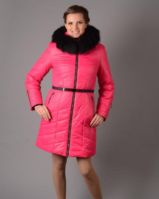 Зимняя Куртка зимняя с мехом М-3015