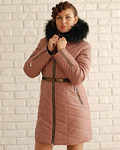 Зимняя Куртка зимняя с мехом М-3015, фото 3