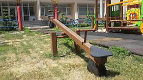 Детская деревянная качалка-балансир , фото 2
