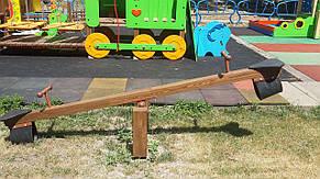 Детская деревянная качалка-балансир , фото 3