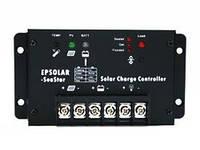 Влагозащищенные ШИМ-контроллеры заряда для фотомодулей SeaStar SS1024R 10A 12/24В (управление таймером)