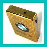 Электроимпульсная USB зажигалка BMW