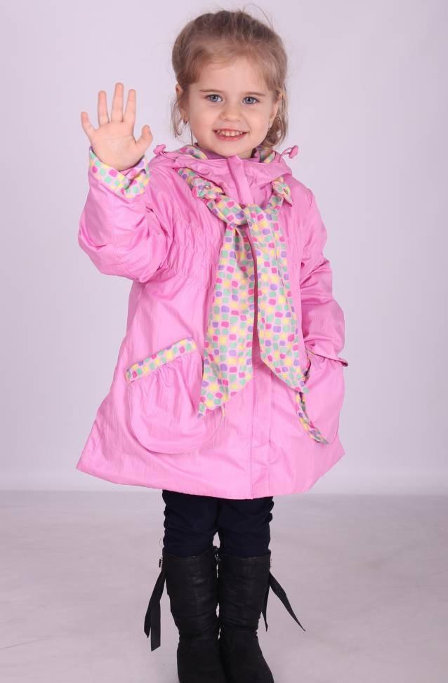 Куртка демисезонная для девочки 2338