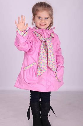 Куртка демисезонная для девочки 2338, фото 2