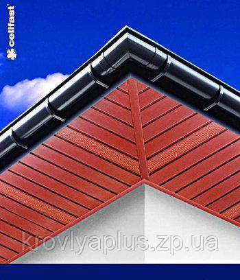 Соффит BRYZA (БРИЗА)красный гладкий /красный перфорированный, фото 2