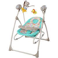 Качели детские Carrello Nanny CRL-0005 Turquoise Scribble
