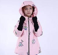 Куртка демисезонная девочке от Anernuo для юных модниц на рост 130-170