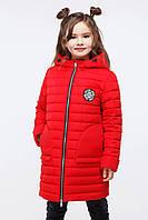 Весенняя удлиненная куртка на девочку Полли