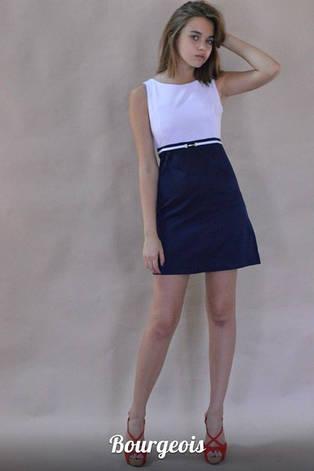 Платье белый верх, фото 2