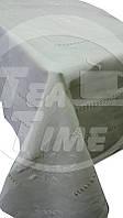Размер 180*270 см. Скатерть с салфетками (12 шт.) льняная украшенная вышивкой и/или кружевом