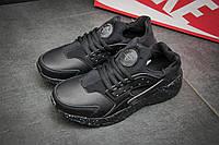 Кроссовки мужские Nike Huarache Ultra, черные (11441),  [  44 (последняя пара)  ]