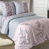 Семейное постельное белье с простыней на резинке 180*200*34, Мадлен(Соло), Белорусская бязь