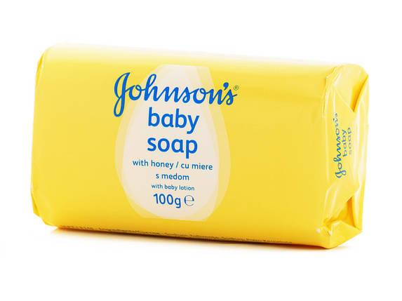 Мило дитяче Johnson's baby з медом 100 г, фото 2