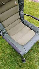 Карповое кресло Elektrostatyk с подлокотниками - усиленное (FK6), фото 3