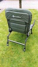 Карповое кресло Elektrostatyk с подлокотниками - усиленное (FK6), фото 2