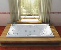 Гидромассажная ванна с врезным смесителем Triton Атлант, 2050х1200х710 мм