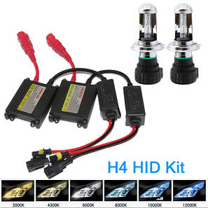 Лампы TURBO-HID LED H4-6000K, фото 2