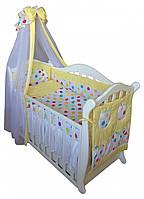 Детская постель Twins Comfort C-036 цветной горошек (8 элементов)  + БЕСПЛАТНАЯ ДОСТАВКА
