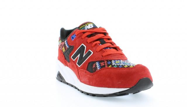 New Balance 580 Red Pixel