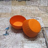Бумажные формы Оранжевые
