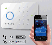 GSM сигнализация G5 (B2888) с RFID чипом и Wireles датчиками Код: 653584726