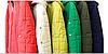 Женская куртка из матовой плащевки 44-50р голубая, фото 4
