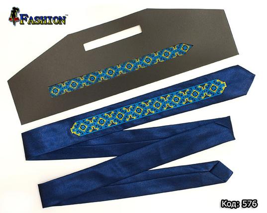 Вузька вишита краватка чоловіча Самойло, фото 2