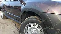 Расширители колесных арок на Renault Duster (2010-2017)