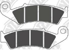 Тормозные колодки NIBK PM043