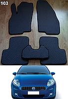 Килимки на Fiat Grande Punto / Punto '05-14. Автоковрики EVA, фото 1