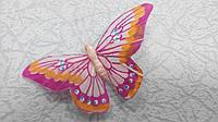 Бабочка декоративная на магните 9 см