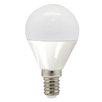 Светодиодная лампа Feron LB-95 G45 E14  7W 2700K 230V Код.58004, фото 2