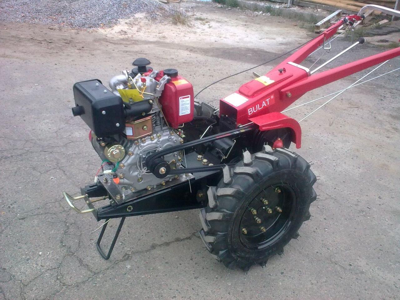 Дизельный мотоблок Булат ВТ1212E (12,0 л.с., ел. стартер, без навесного)